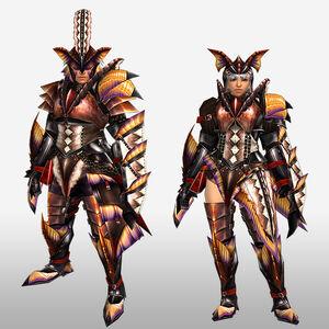 FrontierGen-Paria G Armor (Gunner) (Front) Render