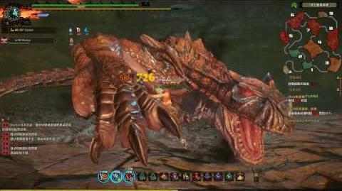 Monster Hunter Online SwordShield Solo - Tigrex 轰龙 (Extremity Hunt 王立极限态)