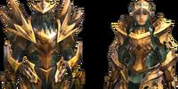 Zamtrios Z Armor (Blademaster) (MH4U)