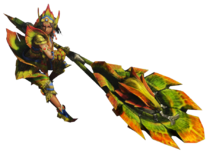 MH4-Hunting Horn Equipment Render 001