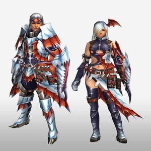 FrontierGen-Sutoroma Armor (Gunner) (Front) Render