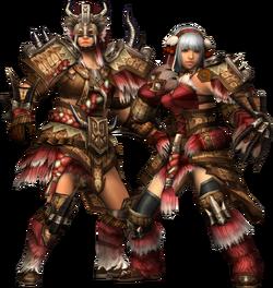 FrontierGen-Gogo Armor (Gunner) Render 2