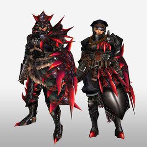 FrontierGen-Rirusu Armor (Gunner) (Front) Render