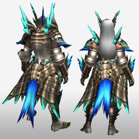 File:FrontierGen-Shourou G Armor (Blademaster) (Gunner) (Back) Render.jpg