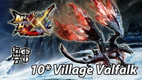 MHXX 10★ Village Valfalk Barufaruku (Brave Gunlance) - 4'32 村 バルファルク ブレイヴ ガンランス