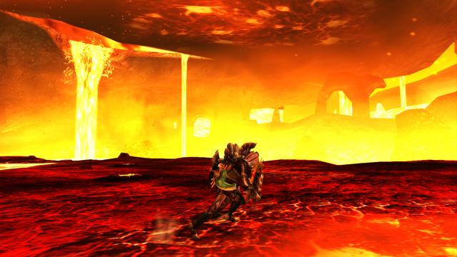 File:MHP3-Lava Canyon Screenshot 002.png