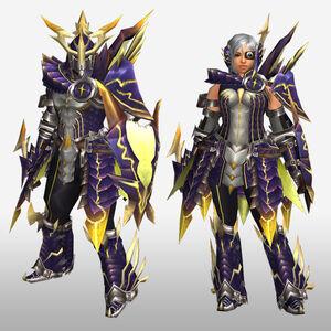 FrontierGen-Rebi G Armor (Gunner) (Front) Render