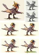 MHOL-沙雷鳥 Concept Artwork 008