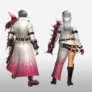 FrontierGen-Vuaisu Armor (Gunner) (Back) Render