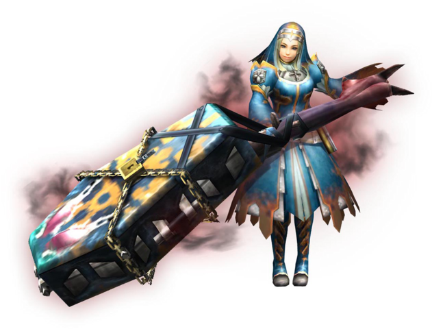 File:MHXR-Hunting Horn Equipment Render 001.png