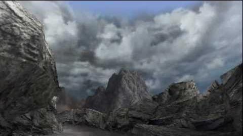 """Monster Hunter Freedom Unite -- """"Burning Rock"""" (Volcano - Day)"""