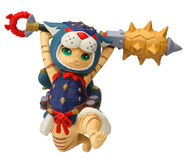 Capcom Figure Builder Palicoes Volume 3 Arzuros Cat