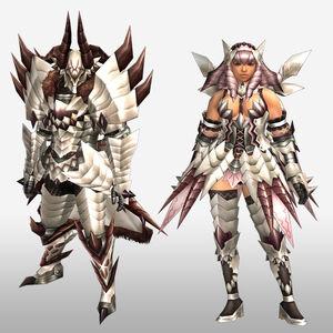 FrontierGen-Juari Armor (Both) (Front) Render