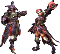 FrontierGen-Wadatsumi Armor (Blademaster) Render 2