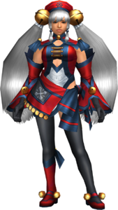 FrontierGen-Hiten Armor (Female) (Both) (Front) Render 002