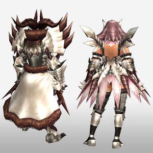 FrontierGen-Juari Armor (Both) (Back) Render