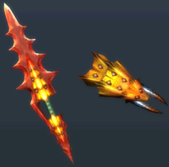 MH3U-Sword and Shield Render 006