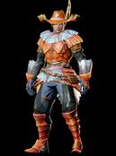 MHO-Kut-Ku Armor (Blademaster) (Male) Render 001