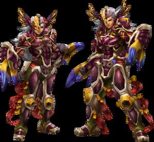 FrontierGen-Gasura Armor (Gunner) (Both) Render 2