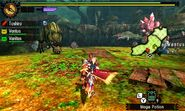MH4U-Deviljho and Ruby Basarios Screenshot 002