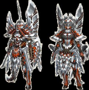 FrontierGen-Misaogin G Armor (Gunner) (Both) Render 2