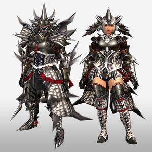 FrontierGen-Sol G Armor (Blademaster) (Front) Render
