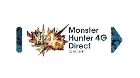 モンスターハンター4G Direct 2014.10