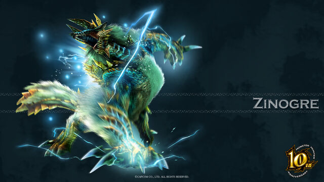 File:MH 10th Anniversary-Zinogre Wallpaper 001.jpg