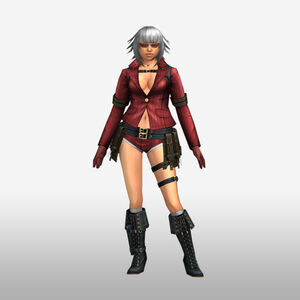 FrontierGen-Lady Armor 003 (Female) (Both) (Front) Render