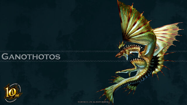 File:MH 10th Anniversary-Plesioth Wallpaper 001.jpg