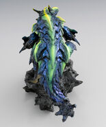 Capcom Figure Builder Creator's Model Brachydios Rage Mode 003