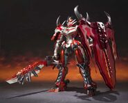 Chogokin-Monster Hunter G Class Henkei Rathalos 001