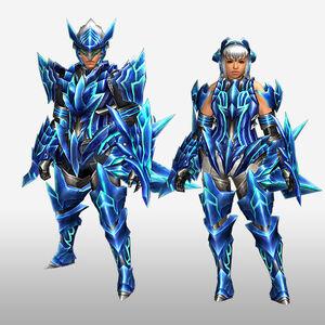 FrontierGen-Diore Armor (Gunner) (Front) Render