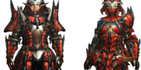MH4U: High-rank Blademaster Armor