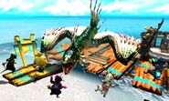 MH4U-Green Plesioth Screenshot 001