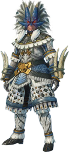 MHO-Slicemargl Armor (Blademaster) (Male) Render 001