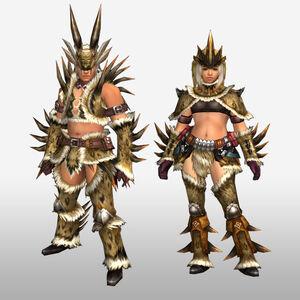 FrontierGen-Hejji G Armor (Blademaster) (Front) Render