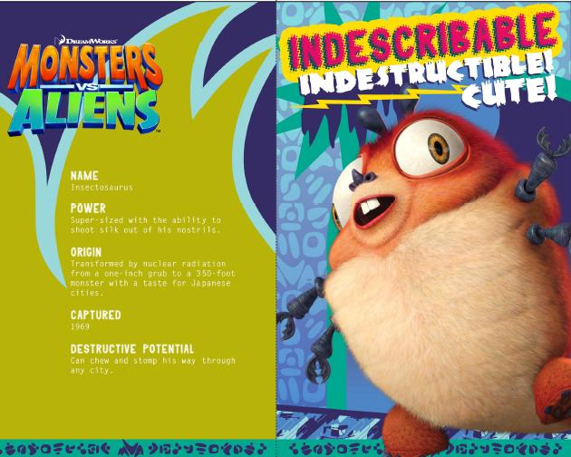 Monsters Vs Aliens Insectosaurus Butterfly