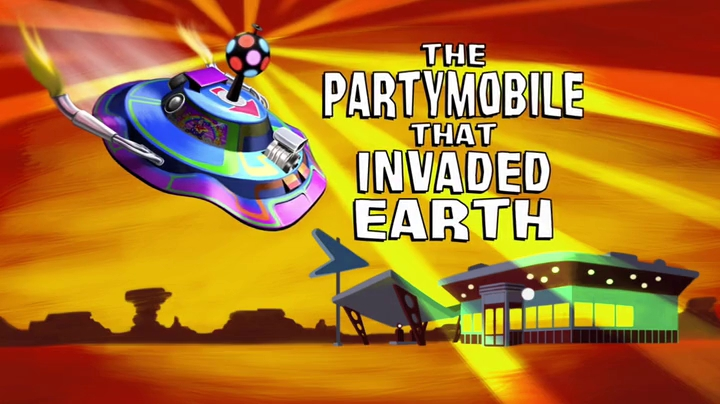 The Partymobile That Invaded Earth   Monsters vs. Aliens ...