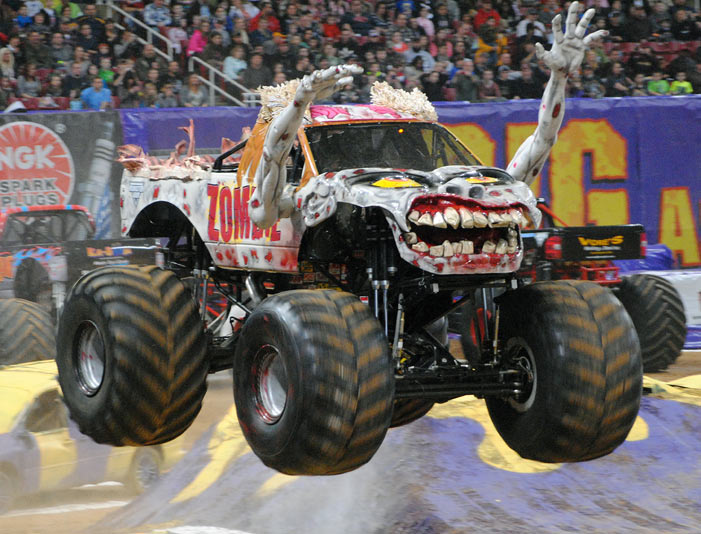 all the coolest trucks you will see at monster jam in miami