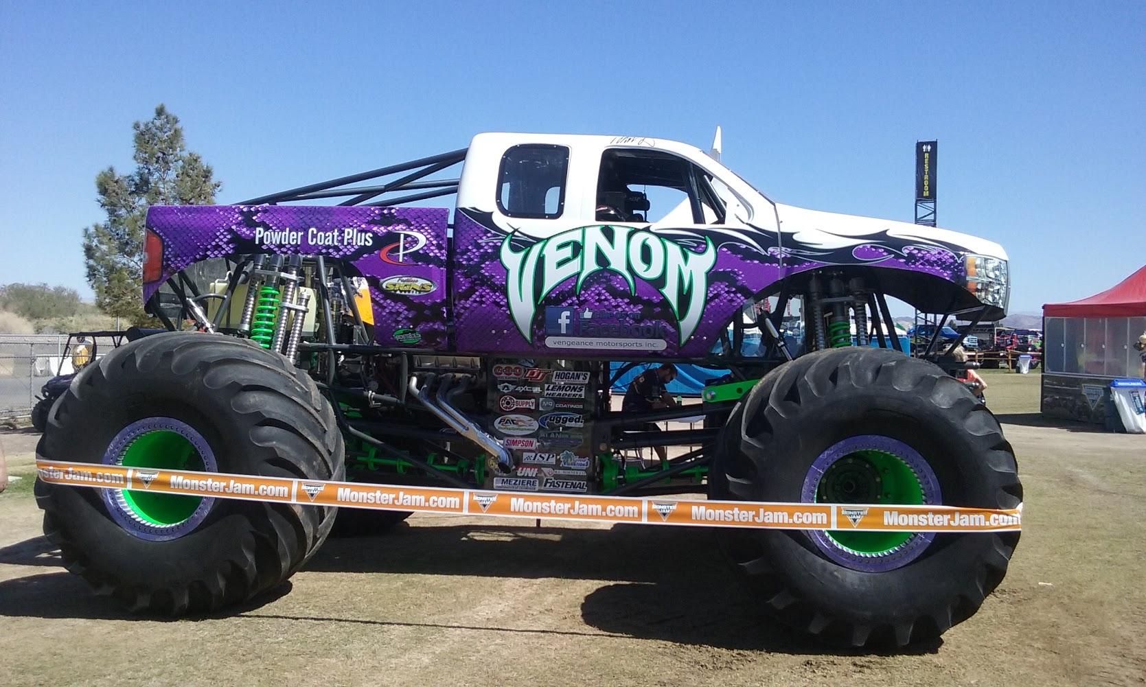 Image result for venom monster truck