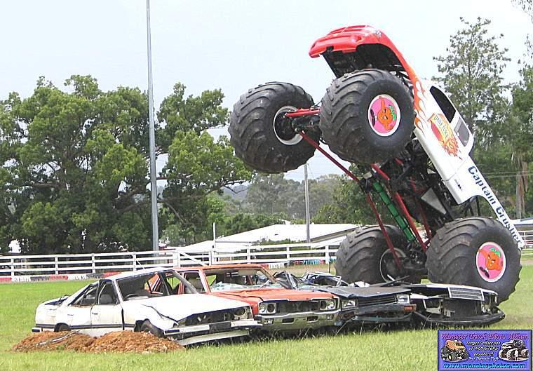 captain crusher | monster trucks wiki | fandom poweredwikia