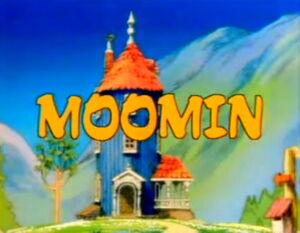 Moomin 1990 japan title