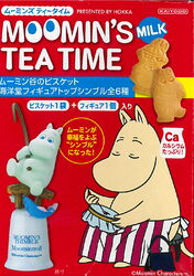 Moomin teatime box front