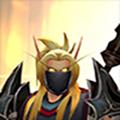 Arrodis - Headshot (No Helm, Gold Eyes), Sunwell & Polearm