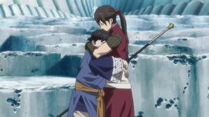 Chagum hugs balsa