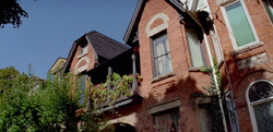 Brownstone, exterior up