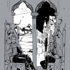 The last Morgensterns on their thrones in Edom