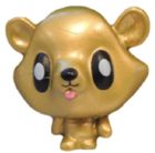 Jeepers figure gold