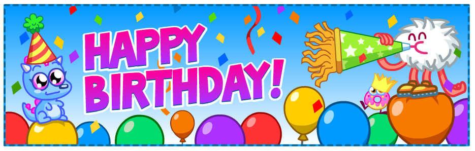 Happy Birthday Banner | Moshi Monsters Wiki | Fandom powered by Wikia